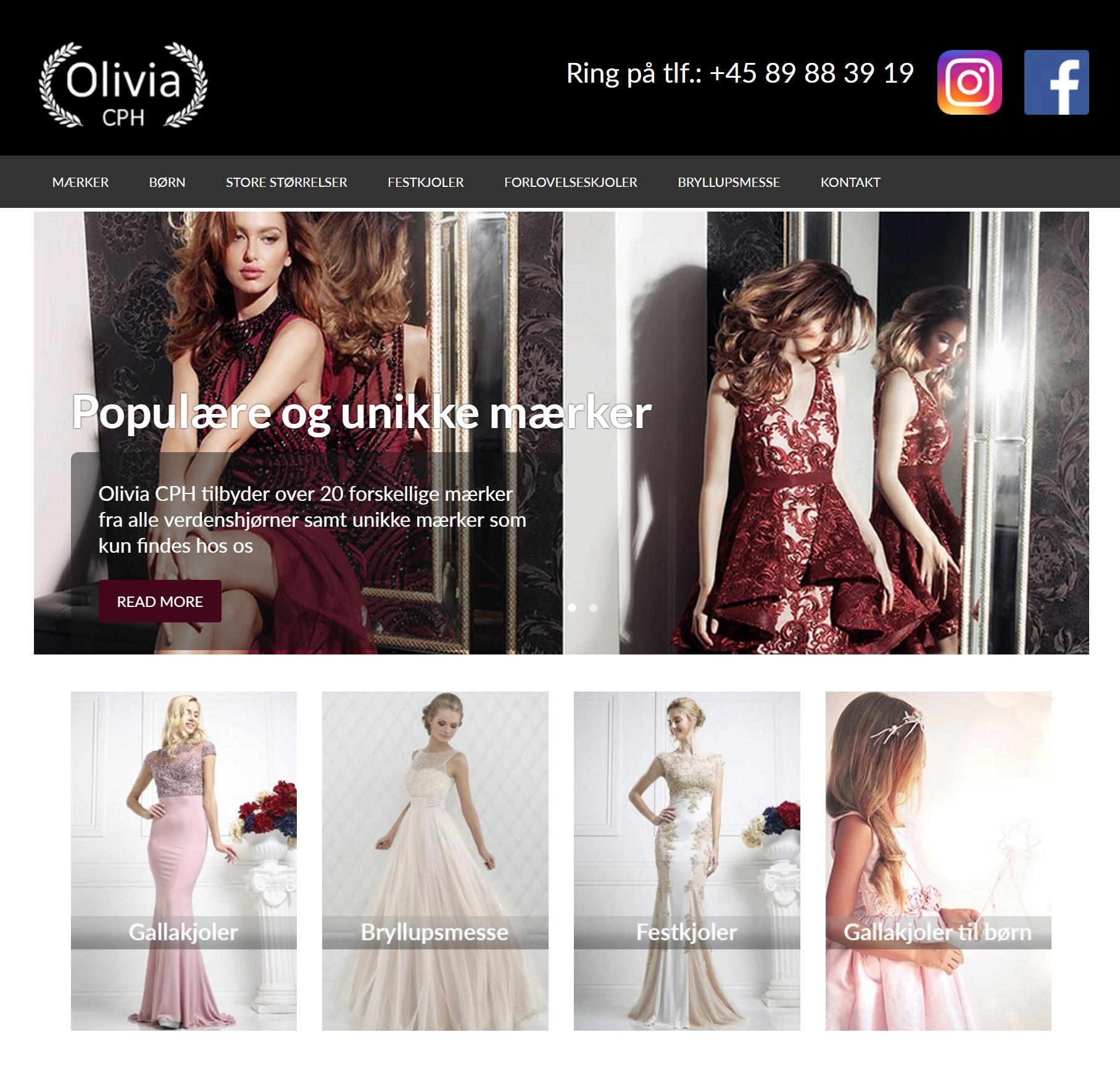 Rørig Billige festkjoler – Billige kjoler til fest – Olivia CPH CI-93