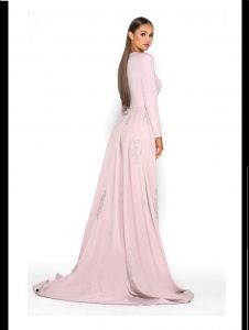 Endora Long Sleeve Blush 77 1